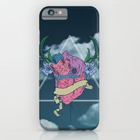 iPhone & iPod Case featuring Heart In The Sky by The Drawing Beard