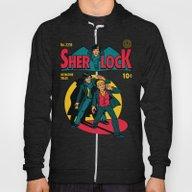 Sherlock Comic Hoody
