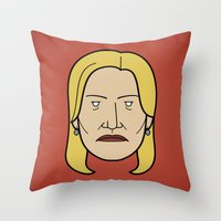 Face Of Breaking Bad: Sk… Throw Pillow