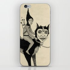 The Capture of the Beast iPhone & iPod Skin
