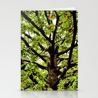 Leaves and Branches Stationery Cards