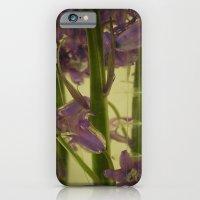bluebells in water iPhone 6 Slim Case
