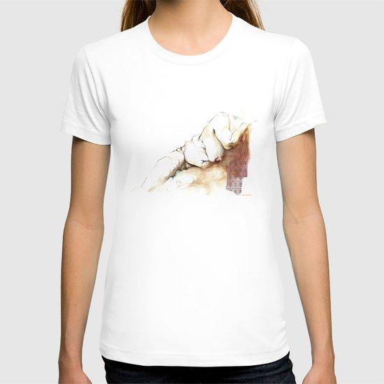 nude T-shirt
