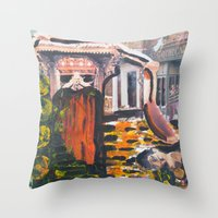 Leave It Behind Throw Pillow