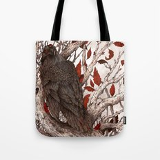 A Raven In Winter Tote Bag