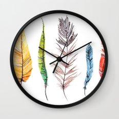 falling all around me Wall Clock