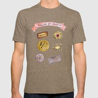 Biscuits for teatime Mens Fitted Tee Tri-Coffee SMALL