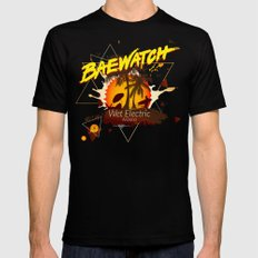 Baewatch - Wet Electric SMALL Mens Fitted Tee Black