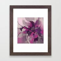 Single Lily Framed Art Print