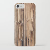 wood iPhone & iPod Cases featuring Wood by Patterns and Textures