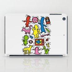 Keith Haring & Simpsons iPad Case