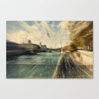 Paris in style Canvas Print