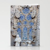 Sagrada Família, Barcelona (detail) Stationery Cards