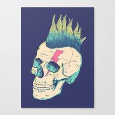 Skull Punk Canvas Print