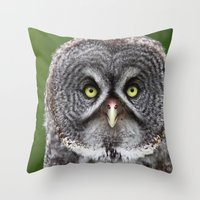 Give a Hoot Throw Pillow