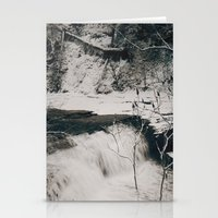 Winter Falls Stationery Cards