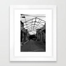 Gated Ceiling Framed Art Print