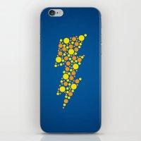 Lightning iPhone & iPod Skin