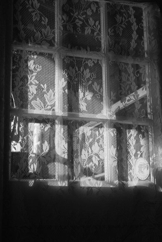 Lace window Art Print