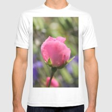 Sweet Rose Mens Fitted Tee White SMALL
