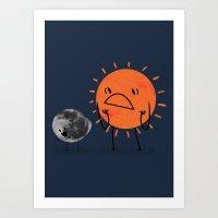Ultimate Mooning Art Print