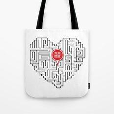 Finding Love II Tote Bag