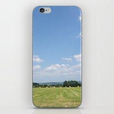 Beneath the Blue Sky iPhone & iPod Skin