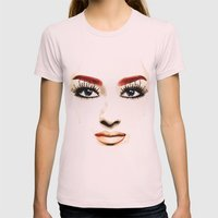Don'T Cry Today! Womens Fitted Tee Light Pink SMALL