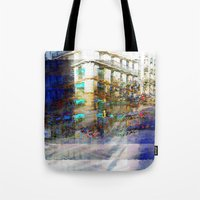 The task involves revolving masks around in place. Tote Bag