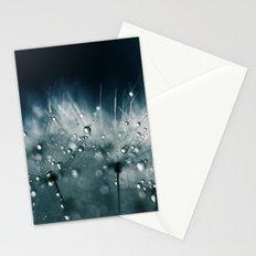 dandelion teal Stationery Cards