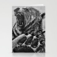 Bear Art Stationery Cards