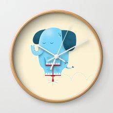 Pogolephant Wall Clock