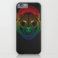 iPhone & iPod Case featuring Lion by HanYong