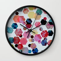 C13 Construct Hex V1 Wall Clock