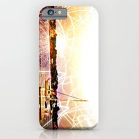 iPhone & iPod Case featuring Boats and Lights by savannarose