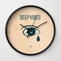 Deep Vibes Wall Clock