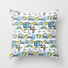Pack It Up Pack It In Throw Pillow