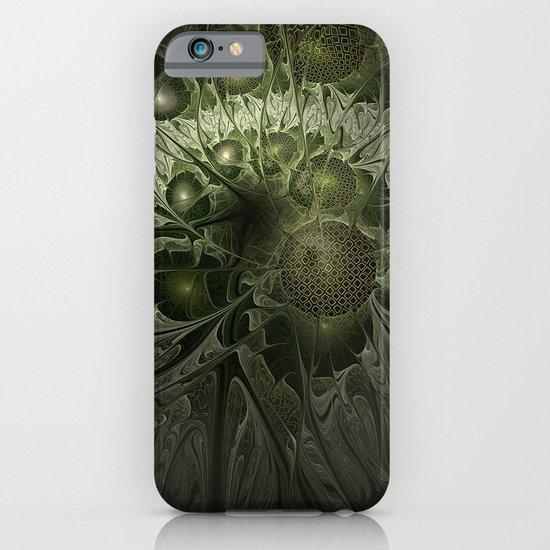 Fractal Moss iPhone & iPod Case