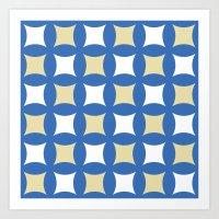 Floor tile 4 Art Print