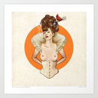 Miss Virginia Art Print