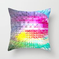 Mind Blown Throw Pillow