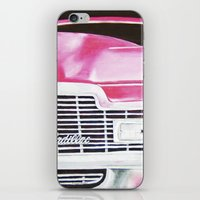 Pink Cadillac - Cotton Candy  iPhone & iPod Skin