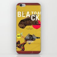 The Black Toad project iPhone & iPod Skin