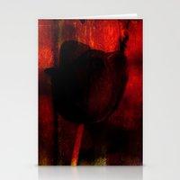 Venus Rose Red Stationery Cards