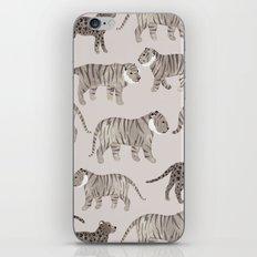 Gray Tigers iPhone & iPod Skin