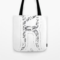 R - Is For Rare - White … Tote Bag
