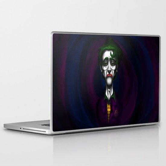 Sad Joker Laptop & iPad Skin