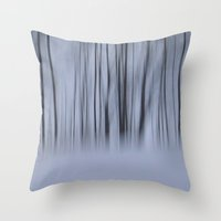 Winter Woods Throw Pillow
