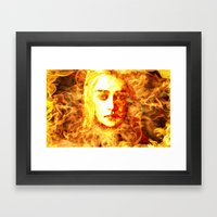 Bride of Fire v2 t shirt Framed Art Print