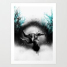 Old Man Winter Art Print